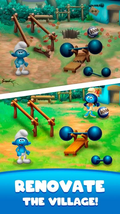 Smurfs Bubble Shooter Story screenshot-0
