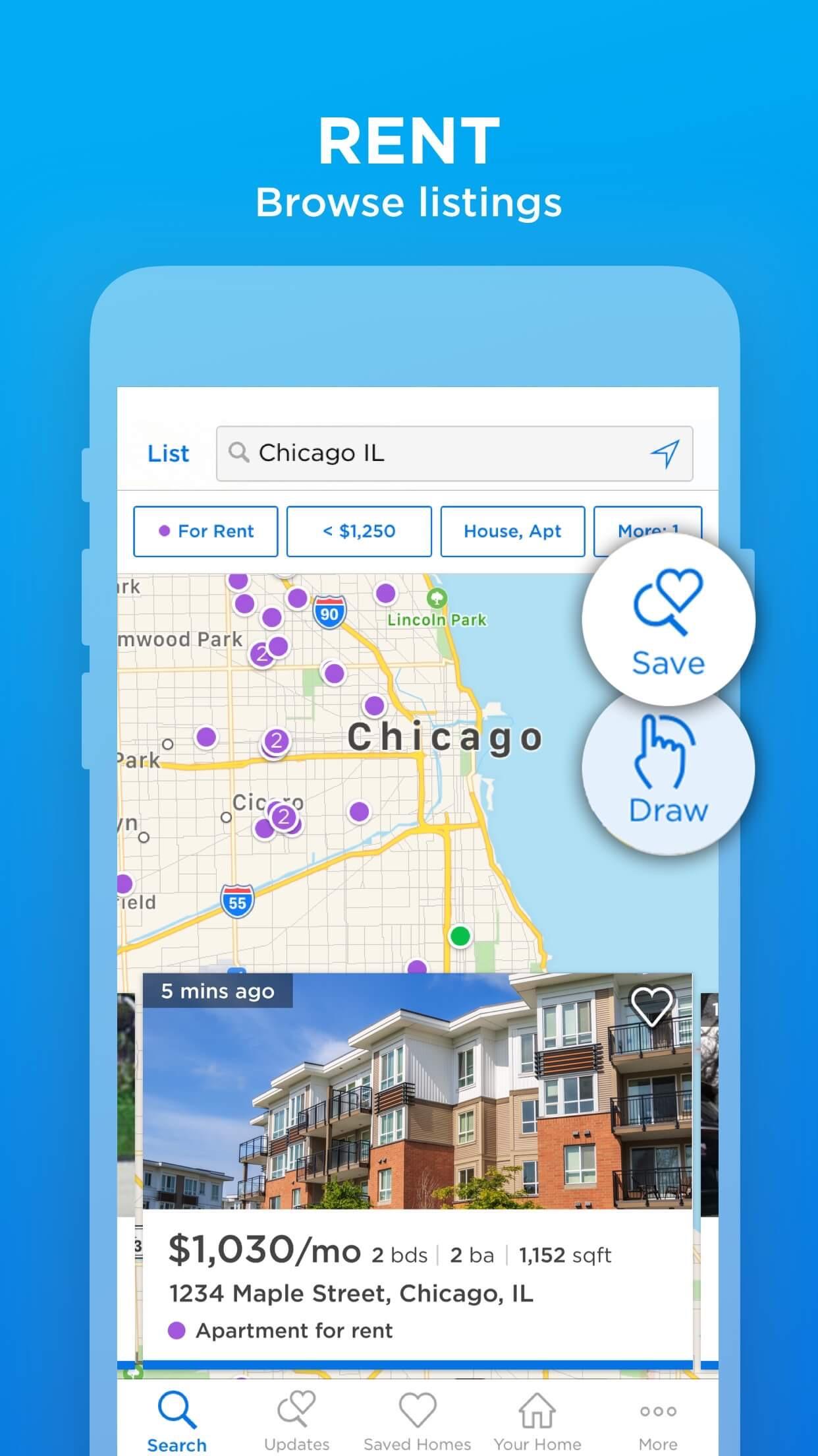 Zillow Real Estate & Rentals Screenshot