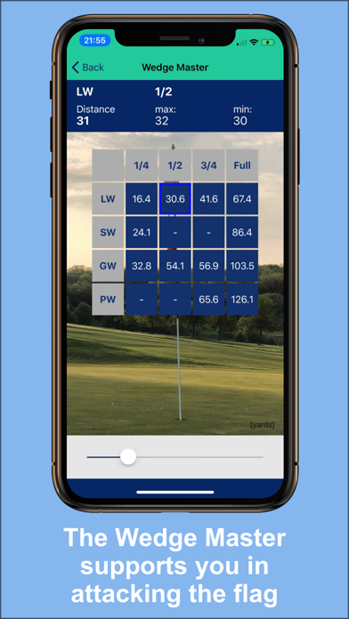 Golfer's Distance screenshot two
