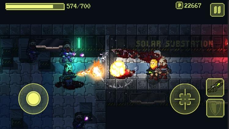 Ailment: space bullet hell screenshot-7