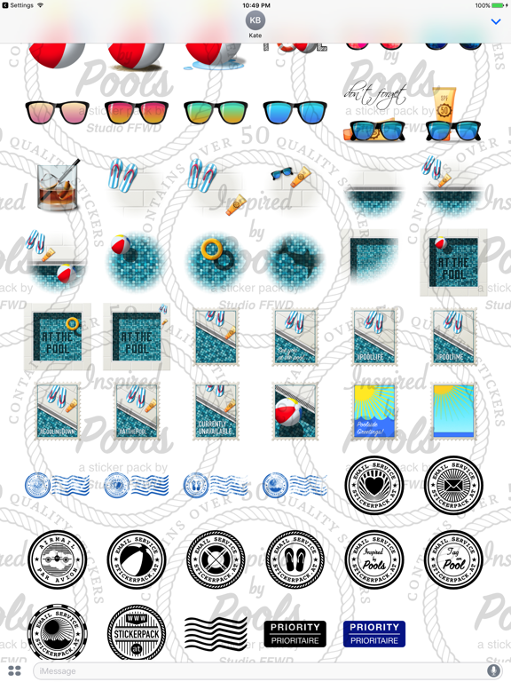 Poolside Stickers screenshot 9