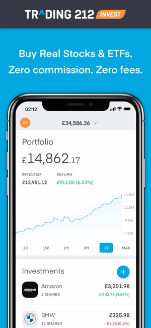 Trading 212 On The App Store