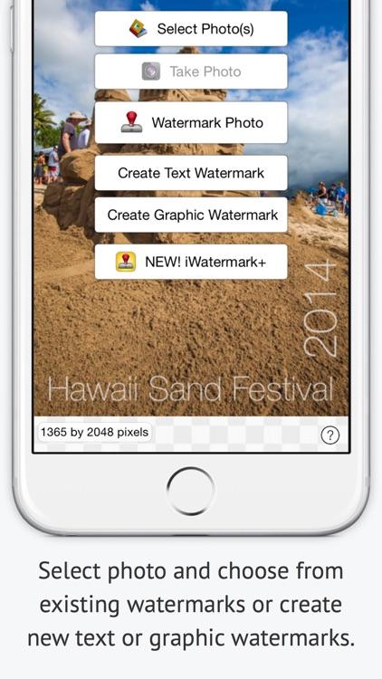 iWatermark Lite Watermark Pics screenshot-3