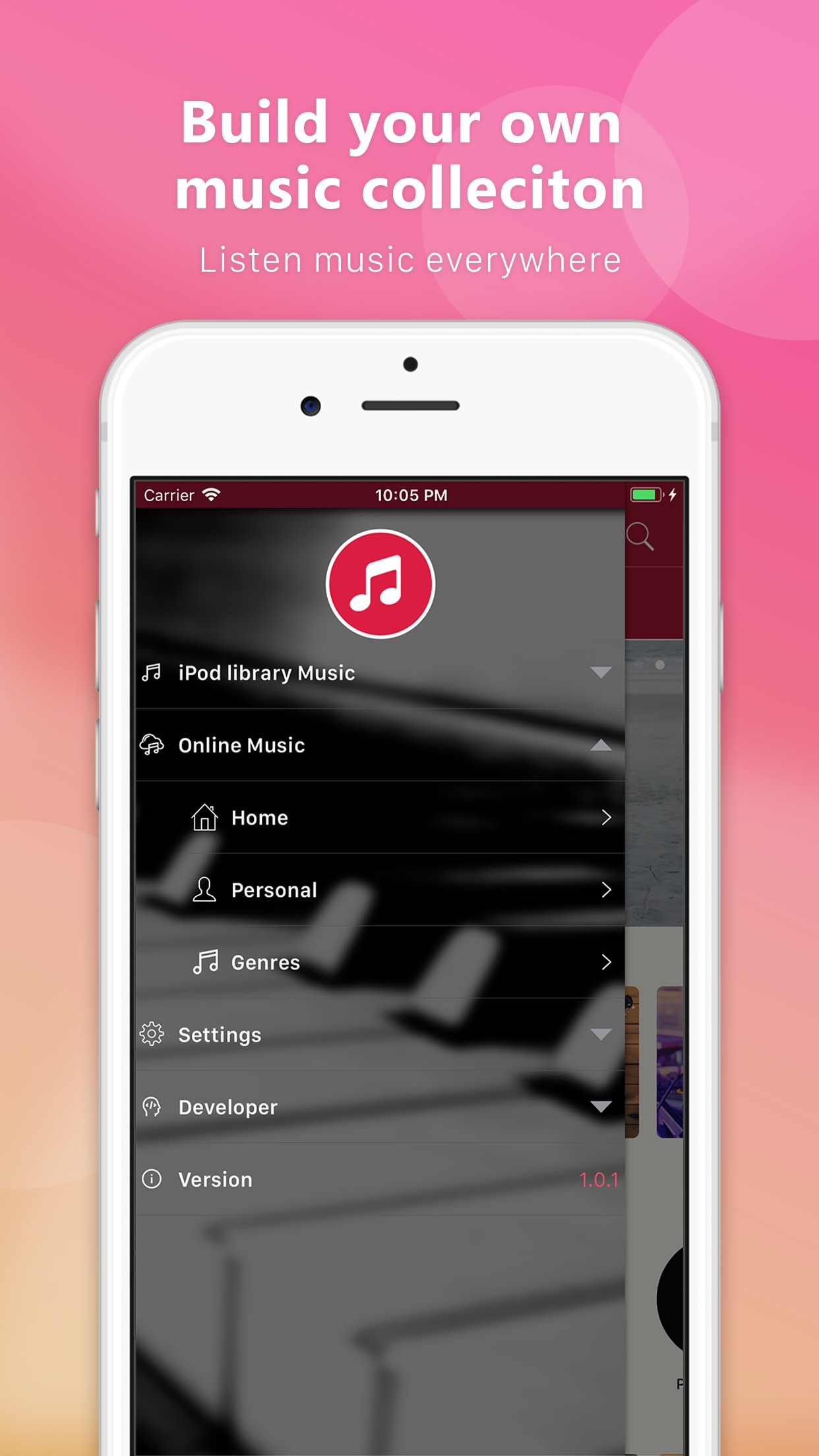 Tubie Video - Music Streaming Screenshot