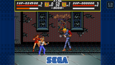 Screenshot from Streets of Rage Classic