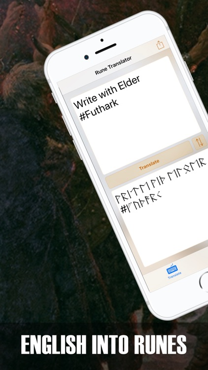 Rune Translate: Elder Futhark screenshot-0