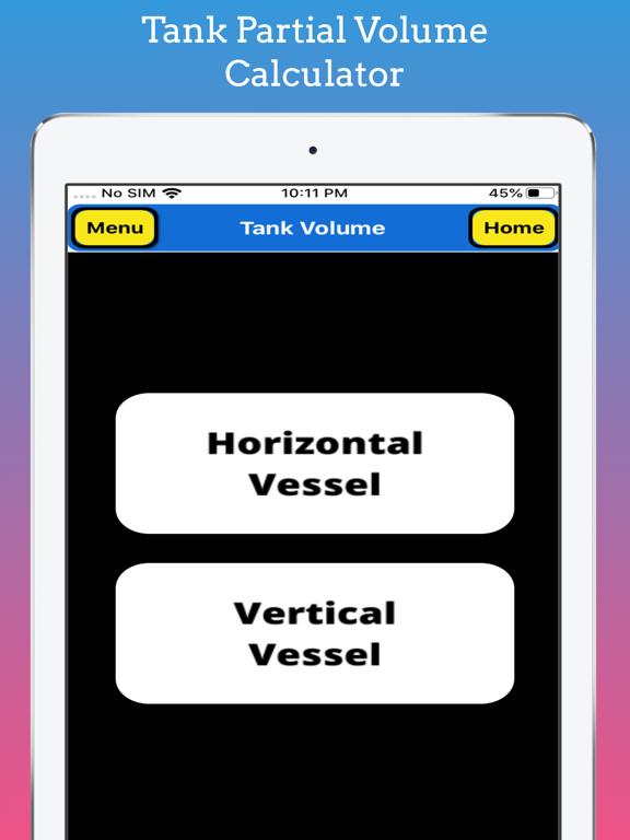 Tank Partial Volume Calculator screenshot 9