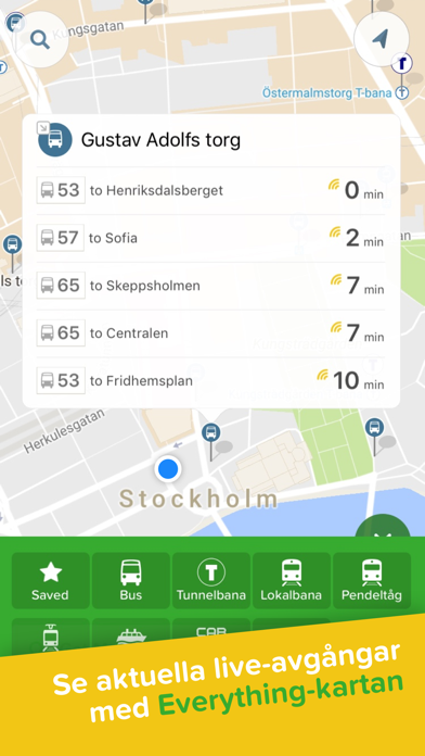Screenshot for Citymapper in Sweden App Store