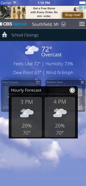 CBS Boston Weather on the App Store