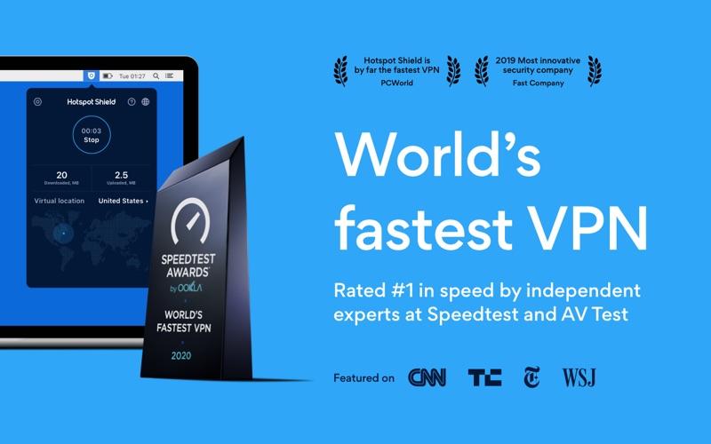 HotspotShield VPN & Wifi Proxy Screenshot