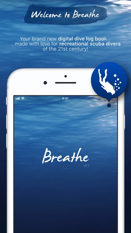Breathe - Smart Scuba Dive Log