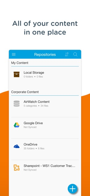 Content Workspace One Im App Store