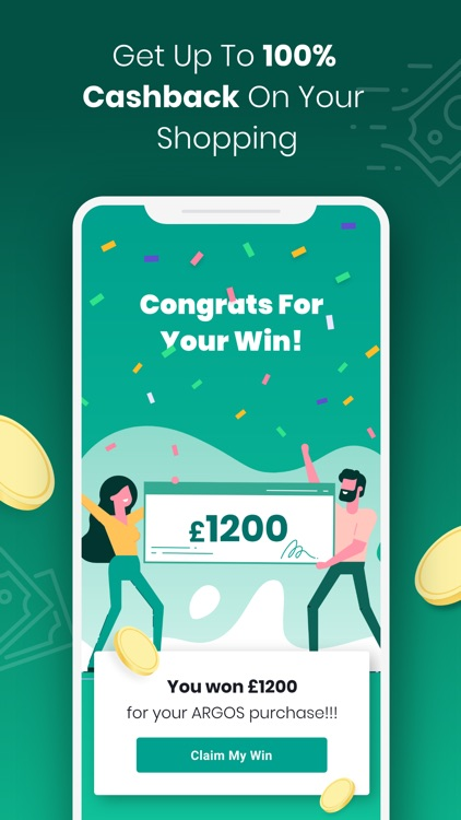 Boom25: Cashback & Giveaways screenshot-2