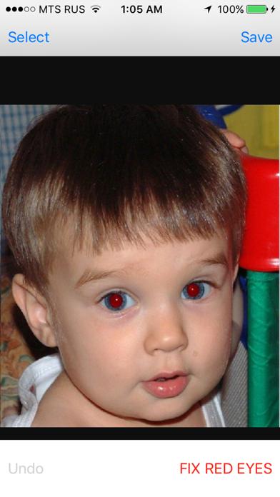 Red Eye Corrector screenshot four