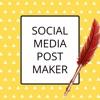 Post Maker - Graphic Creator - iPhoneアプリ