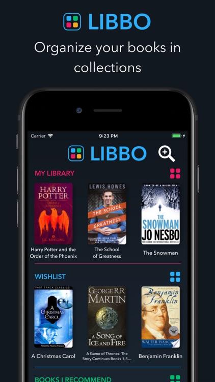 Libbo - Your books, organized.