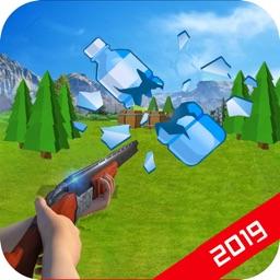 3D Bottle Break - Shooing Game