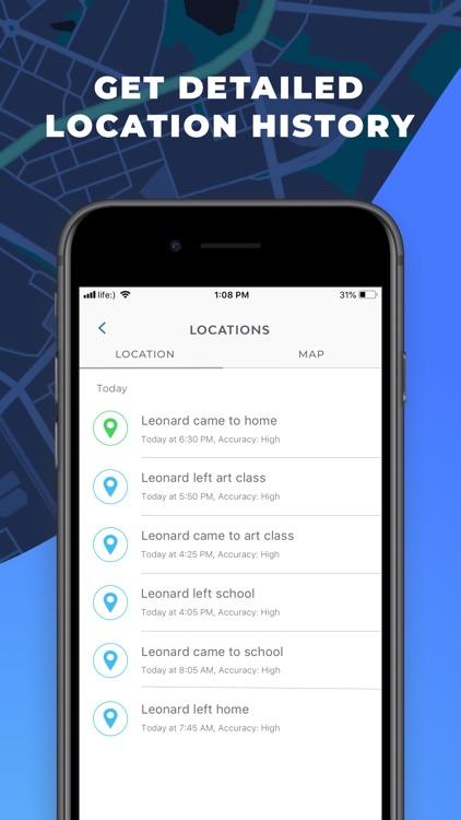 mSpy Lite Phone Family Tracker screenshot-3