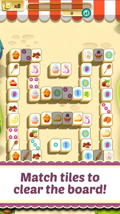 Mahjong Cupcake Bakery Puzzle screenshot-0