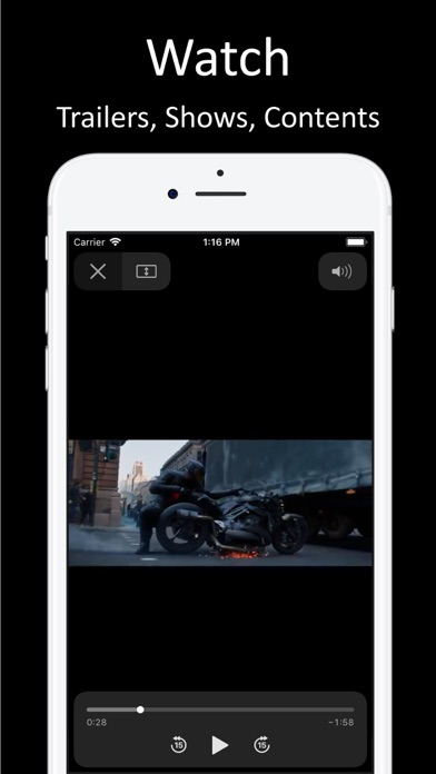 Movies Box Screenshot on iOS