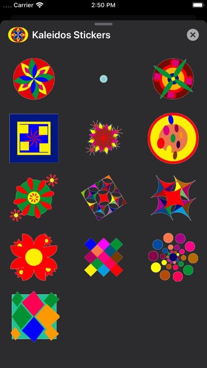 Kaleidos Stickers screenshot-5