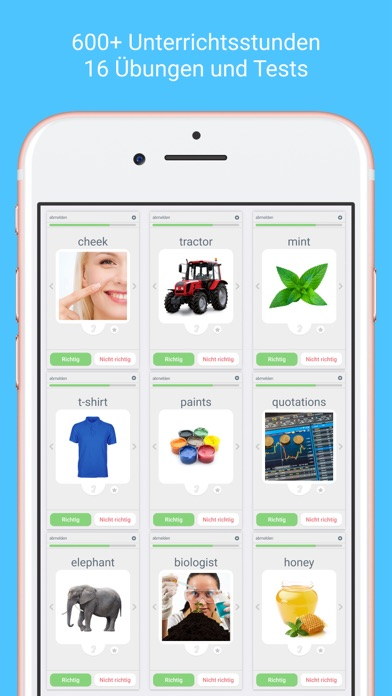Screenshot for Sprachen Lernen mit LinGo Play in Germany App Store