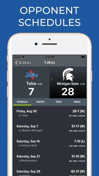 Tulsa Football Schedules screenshot-7
