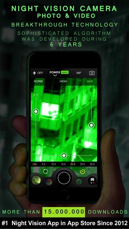 Night Vision (Photo & Video) screenshot-0