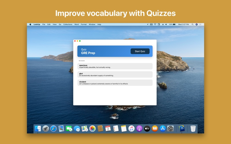 LookUp: English Dictionary for Mac