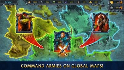 Screen Shot Heroes Of War Magic 4