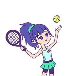 DIY网球女孩