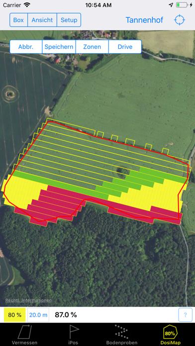 Farmface Geo Assistent Screenshots
