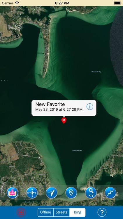 CHESAPEAKE & DELAWARE BAYS SEA screenshot-5