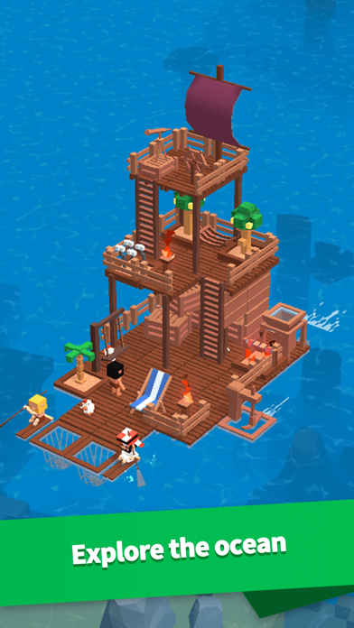 Idle Arks: Build at Sea screenshot 2