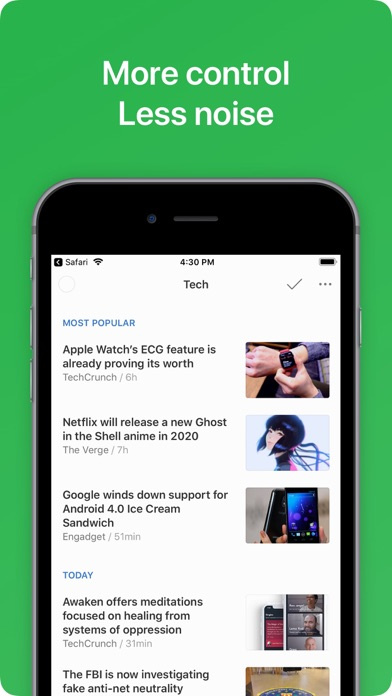 Feedly - Smart News Reader ScreenShot2