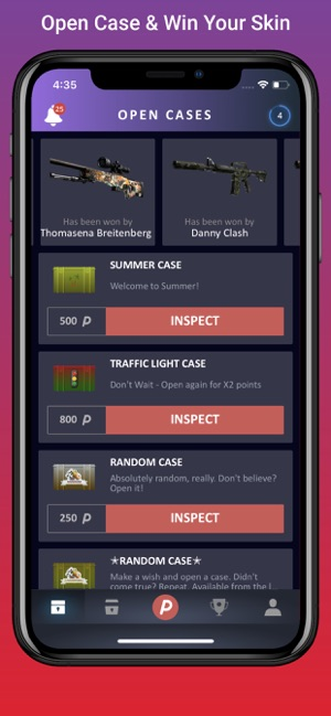 DailySkins: Cases & Skins on the App Store