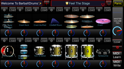 BarbaXDrums screenshot 1