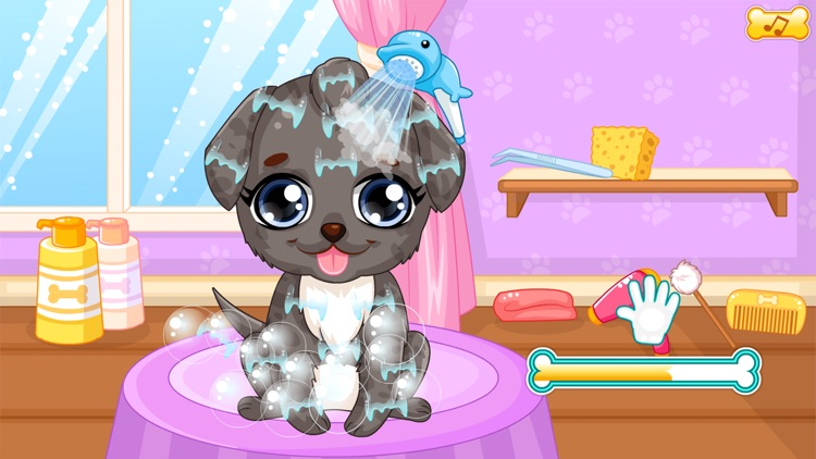 Puppy makeover hair salon screenshot-4