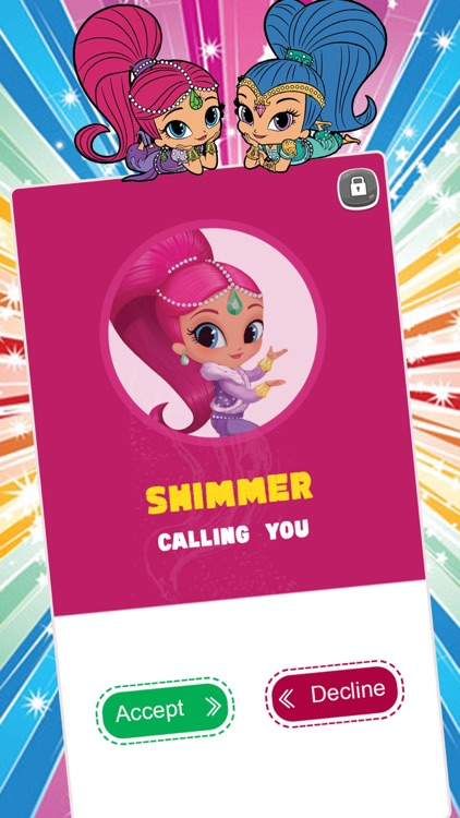 Shimmer and Shine - Call&Guess