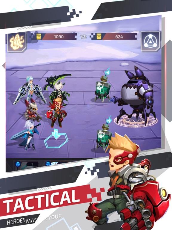 Ipad Screen Shot Nova Heroes 0