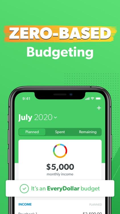 EveryDollar Budgeting App screenshot-0