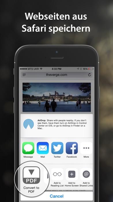 Screenshot for PDF Converter von Readdle in Austria App Store