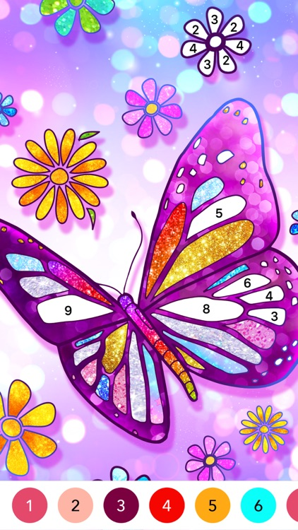 Color Fun - Color by Number screenshot-3