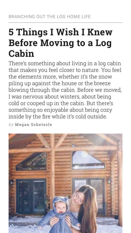 Log Home Living screenshot-5