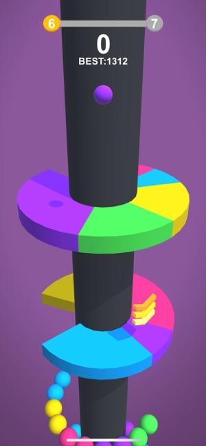 Color Ball: Hit The Same Color Screenshot
