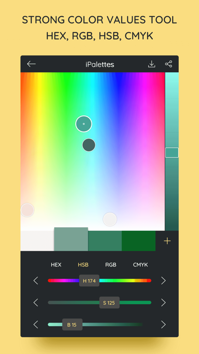 iPalettes - Color palettes Screenshots