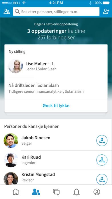 Screenshot for LinkedIn in Norway App Store