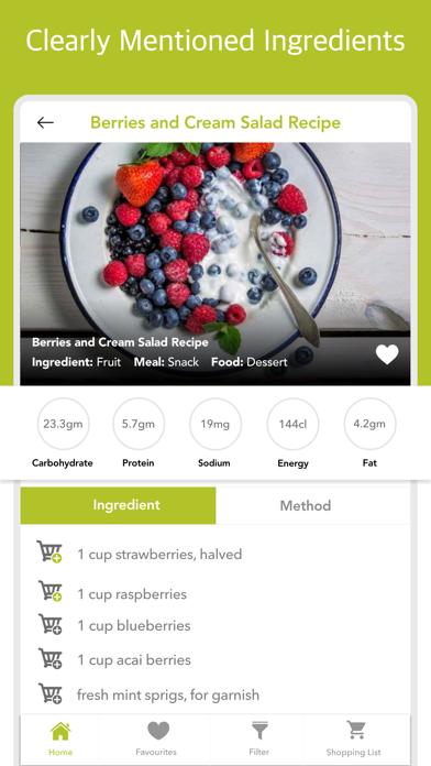 Salad Recipes - Lettuce Eats screenshot two