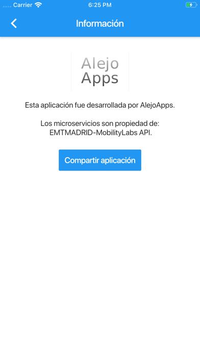Espera Bus Madrid screenshot 6