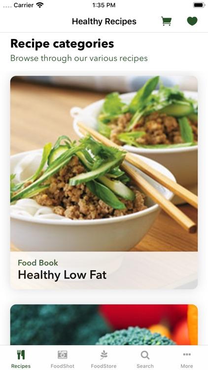 Healthy Recipe Book : FitMe
